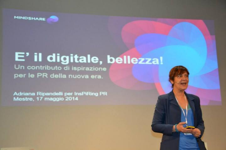 """InspiringPR lancia """"È il digitale, bellezza!"""", il premio di studio in memoria di Adriana Ripandelli"""